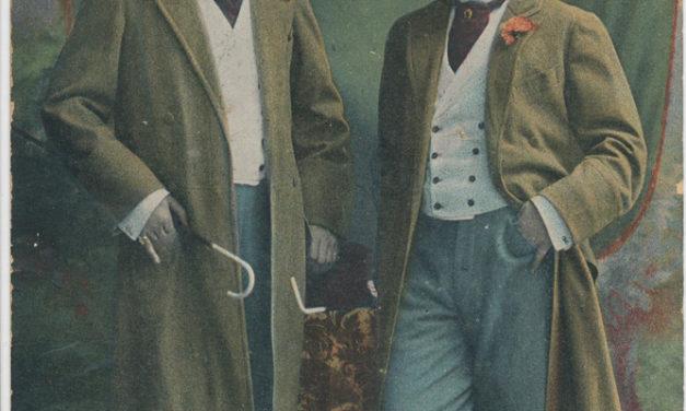 Żebrak w garniturze