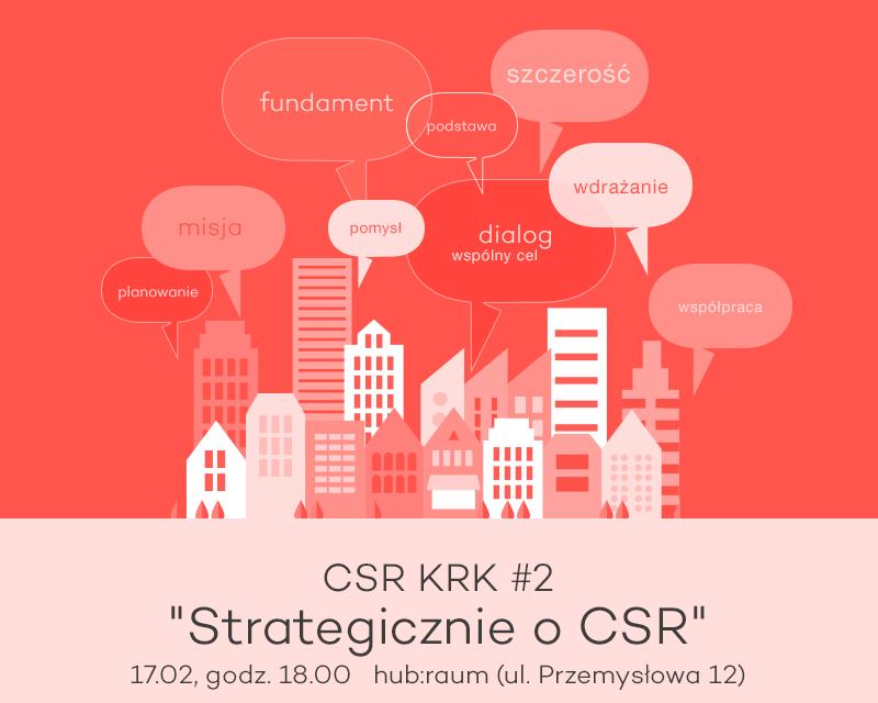 [KRAKÓW] Strategicznie o CSR.