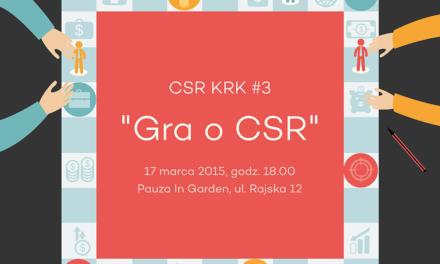 [Kraków] Gra o CSR