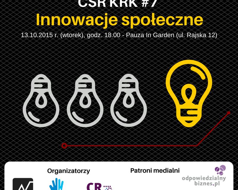 [Kraków] Czy CSR jeszcze istnieje?