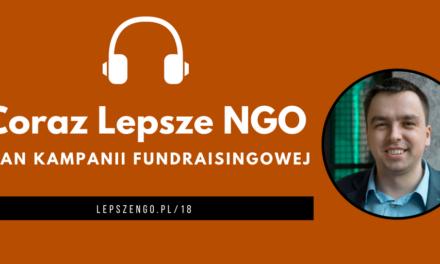 [CLNGO 18] Plan kampanii fundraisingowej