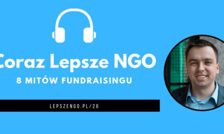 [CLNGO 26] 8 mitów fundraisingu