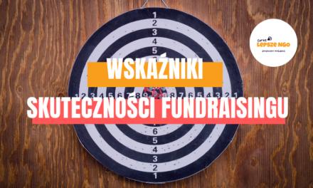 [CLNGO 33] Wskaźniki skuteczności fundraisingu
