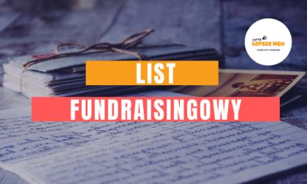 [CLNGO 35] List fundraisingowy